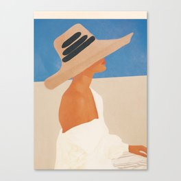 Summer Hat Canvas Print