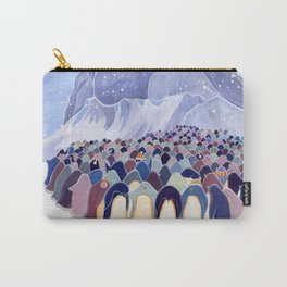 Huddling Penguins Carry-All Pouch