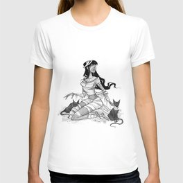 Inktober Mummy T-shirt