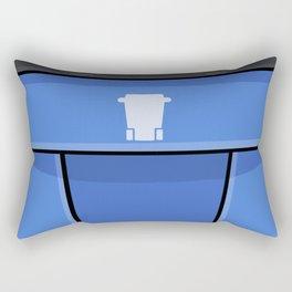 Giant Recycle Bin Rectangular Pillow