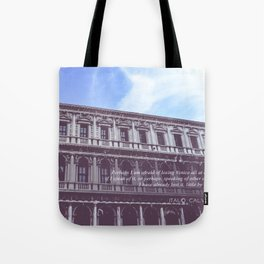 Venetian Architecture Tote Bag