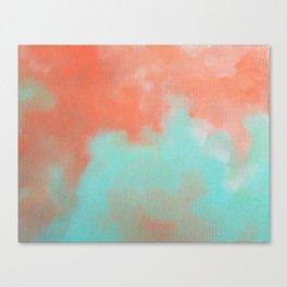 Aqua Sky Canvas Print