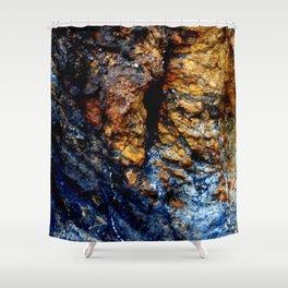 Blue Tears Shower Curtain