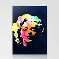 marilyn Stationery Cards featuring Marilyn by Fimbis