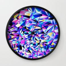 Pink & Blue No. 1 Wall Clock