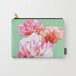 Watercolor rambling roses Carry-All Pouch