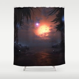 Circumbinary Shower Curtain