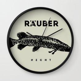 Hecht / Pike Wall Clock