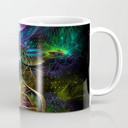 Neons - Fractal - Visionary - Manafold Art Coffee Mug