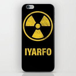 IYARFO CAUTION iPhone Skin