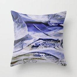 Melting Glacier Throw Pillow