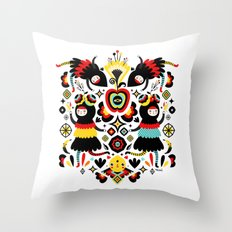 Morning Apple Throw Pillow