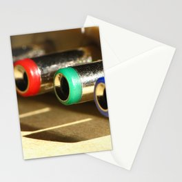 Colorful Electronic Adapters Stationery Cards