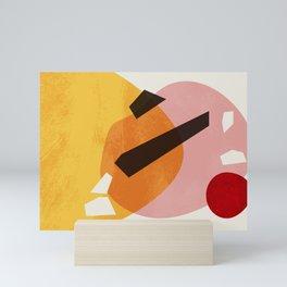 Stacking Pebbles Art #2 Mini Art Print