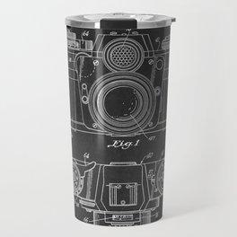 Chalkboard Camera Patent Travel Mug