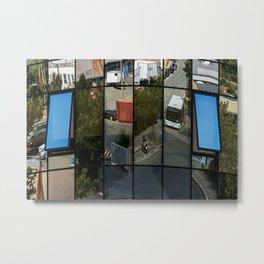 architecture Facade Metal Print