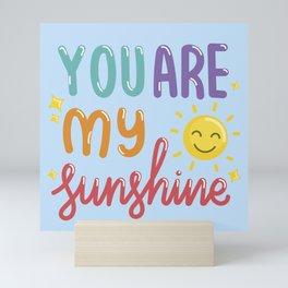 The Sunshine Love Mini Art Print