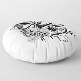 Zodiac - Gemini Floor Pillow