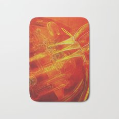The Color of Music - French horn Bath Mat