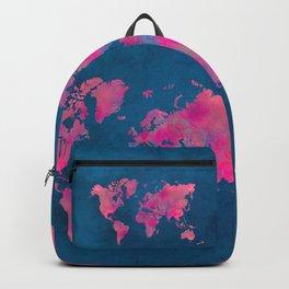 world map art 10 Backpack