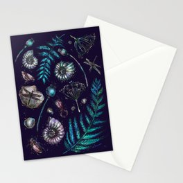 Mystical natural pattern Stationery Cards
