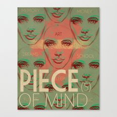 Piece(s) of Mind Canvas Print
