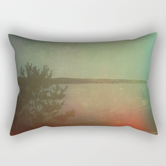 The Land I Wander in My Dreams Rectangular Pillow