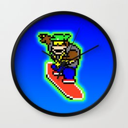 Trilla Gorilla Wall Clock
