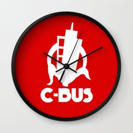 C-Bus reversed Wall Clock