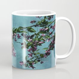 Pink Over Turquoise by CheyAnne Sexton Coffee Mug