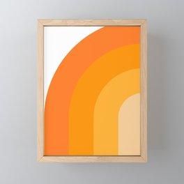 Retro 01 Framed Mini Art Print