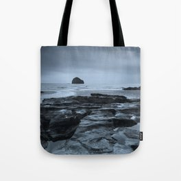 Gull Rock Seascape Tote Bag