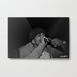 Live from New Jet City: Curren$y pt. 3 Metal Print