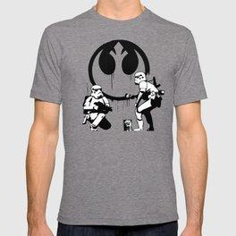 Banksy Troopers T-shirt