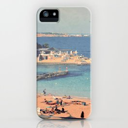 A Private Mallorcan Beach For All Of Us iPhone Case