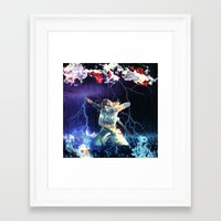 tomb raider Framed Art Prints featuring Tomb Raider  by Pierre Venter