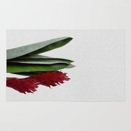 Red Flower Rug