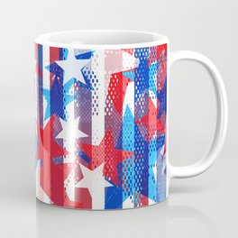 AMERICANA PATTERN Coffee Mug