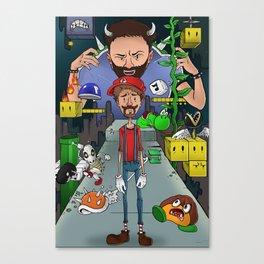 Mario Maker World Championships Canvas Print