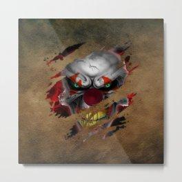 Clown 02 Metal Print
