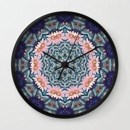 Shaping Realities (Mandala) Wall Clock