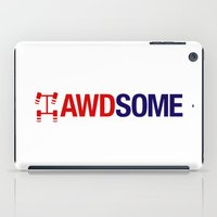audi iPad Cases featuring AWDSOME v2 HQvector by Vehicle