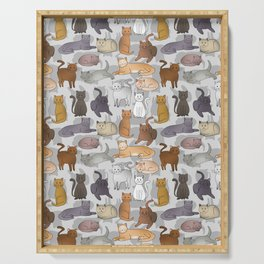 Cats Serving Tray