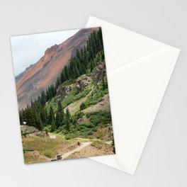 Road to the Longfellow Mine, elevation 11,080 feet Stationery Cards