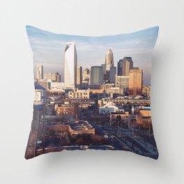 Queen City Throw Pillow