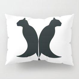 Cat inkblots Pillow Sham