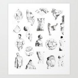 Nood Dood Pattern Art Print