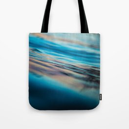 Oily Reflection Tote Bag