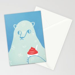 Polar Beverage Stationery Cards