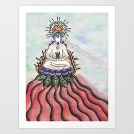 Love and Light Art Print